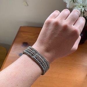 Beaded American Eagle Bracelet